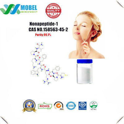 China DIY Cosmetic Ingredients Peptide  Nonapeptide 1 CAS 158563 45 2  99% Purity For Skin Lightning supplier