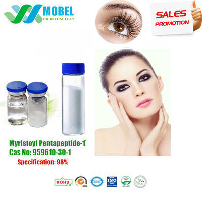 China Eyelash Growth Peptide Myristoyl Pentapeptide 17 Cas No: 959610-30-1 Purity 99% Factory Price supplier