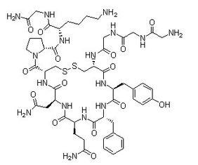 Argipressin Acetate Vasopressin Research Peptides CAS 113-79-1 98% Purity