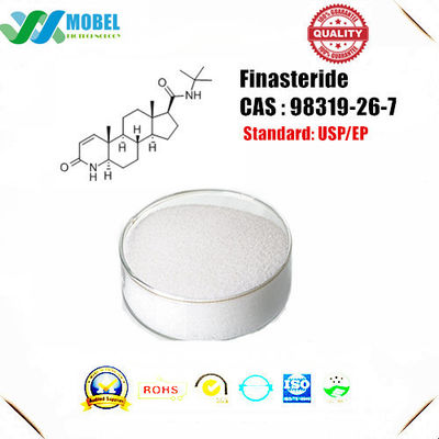 China Finasteride  CAS 98319-26-7 proscar powder  99% USP Standard  for Hair Growth Treatment factory